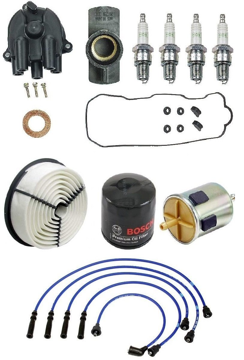 Filters Plugs Gaskets Cap Wire Set Tune Up Kit Isuzu Pickup 1992-1995 2.6L by Original Performance / Yec / Stone / Bosch / NGK (Image #1)