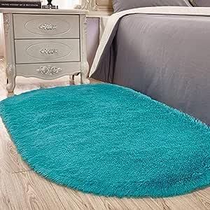 CDS - Alfombras ovaladas suaves para habitación de niños ...
