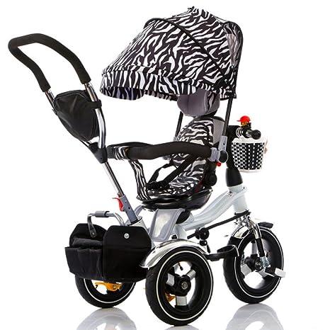 QXMEI Triciclo Infantil Carrito De Bebé Carrito 1-3-6 Triciclo Infantil De Tres