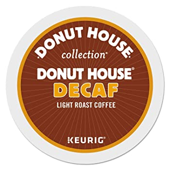 Donut House Collection Light Roast Decaf K-Cups