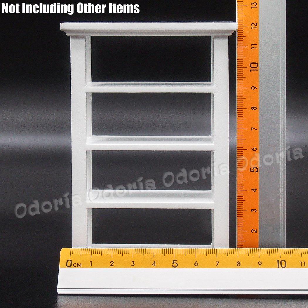 Amazon.com: Odoria 1: 12 Miniatura Muebles De Estantería de ...