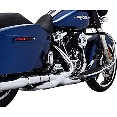 Vance & Hines Power Duals Headpipe System (Chrome) for 17-19 Harley FLHX2: Automotive