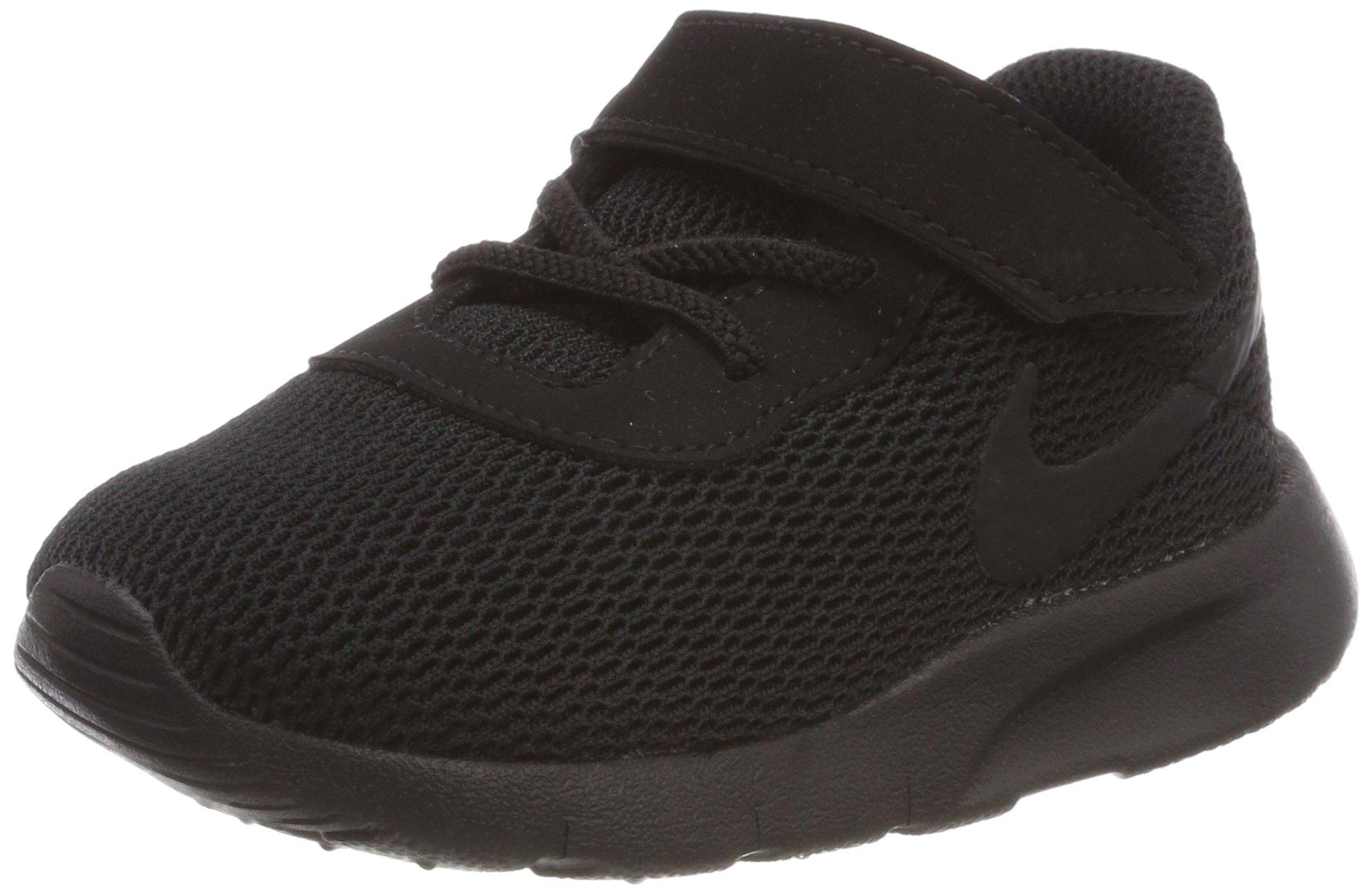 Nike Kid's Tanjun Running Shoe (6 M US Toddler, Black/Black) by Nike (Image #1)
