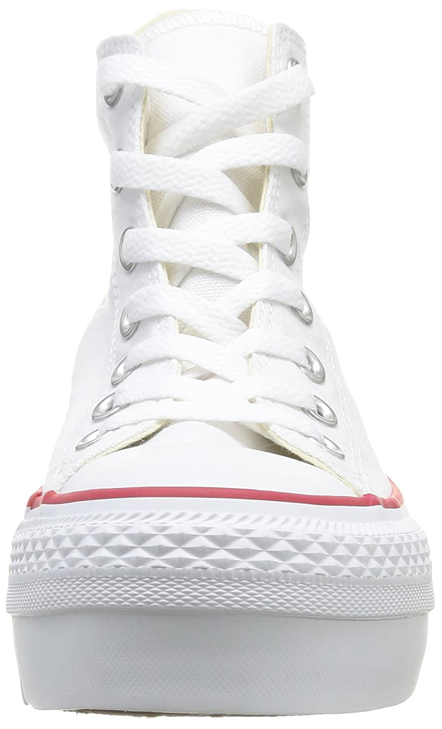 converse canvas bianche donna