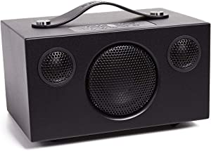 Audio Pro Addon C3 Portable High Fidelity WiFi Bluetooth Wireless Multi-Room Speakers w/Battery Compatible with Alexa, Computers, Laptop, Desktop, Cellphone & Tablet - Black