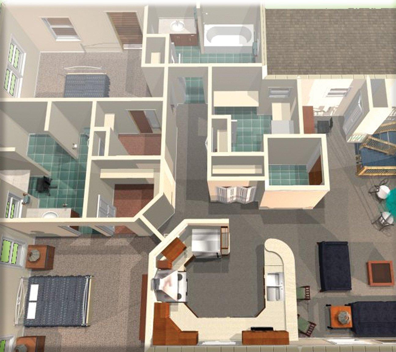 turbo floorplan home landscape pro v16 pc amazon co uk software