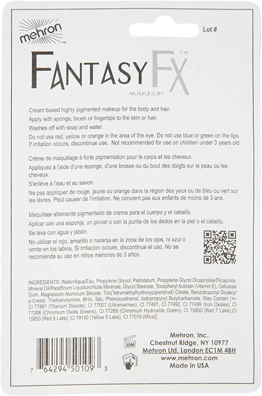 Mehron Fantasía FX tubos de pintura de la cara - Plata (1 oz ...
