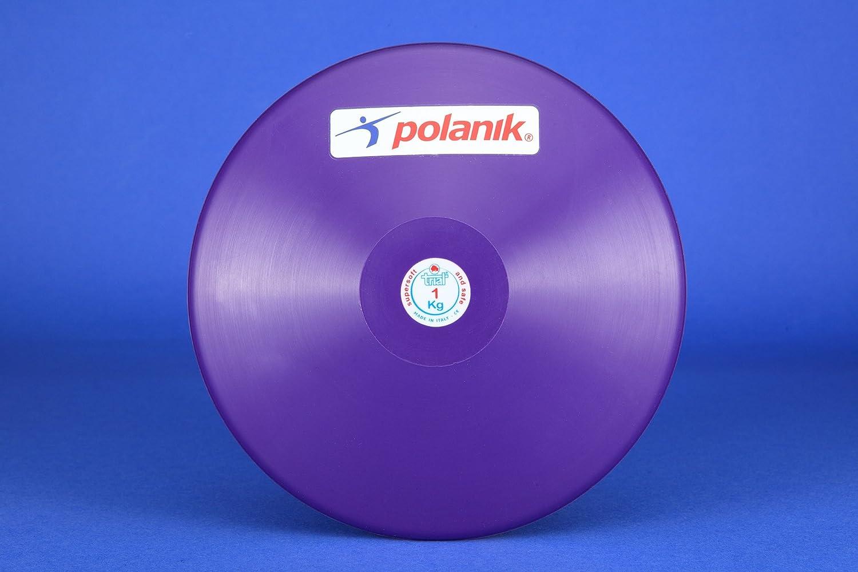 Polanik Trial Diskus f/ür Training 0,30 kg bis 3,00 kg