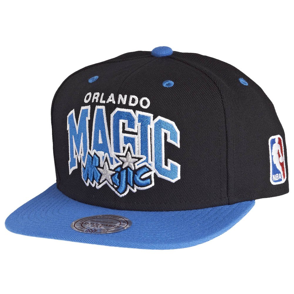 premium selection 9b7ed 5cb2b Amazon.com  Mitchell   Ness NBA Orlando Magic Team Arch Snapback Cap NA80Z Kappe  Basecap  Clothing
