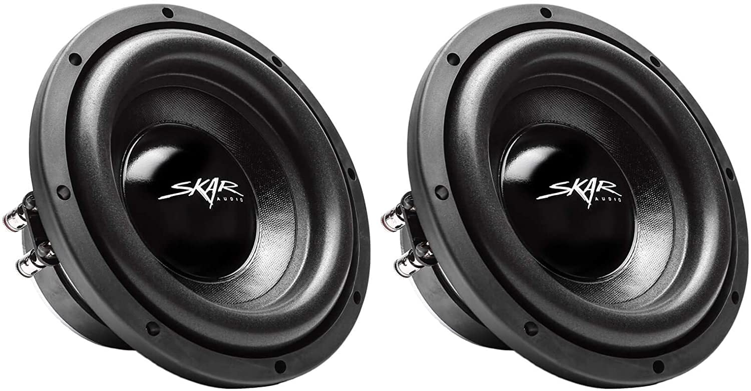 "(2) Skar Audio IX-8 D2 8"" 300W Max Power Dual 2 Ohm Car Subwoofers, Pair of 2 71fTQL60a1LSL1500_"