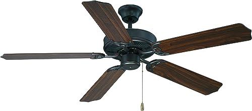 Savoy House 52-FAN-5WA-13 The Builder Specialty Ceiling Fan 52″ W x 13″H