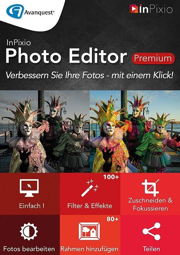 InPixio Photo Editor Premium [PC Download]: Amazon.de: Software