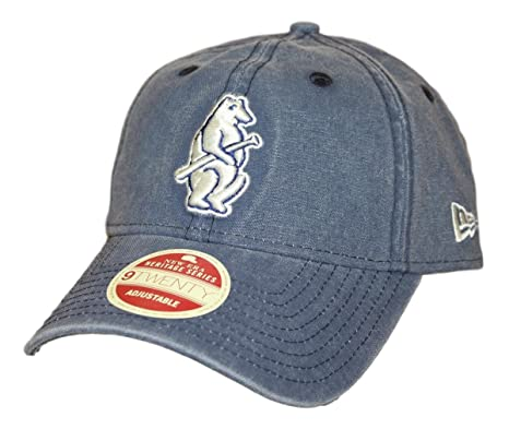 205e870be Amazon.com : New Era Chicago Cubs MLB 9Twenty Cooperstown Classic Wash  Adjustable Hat - 1914 : Sports & Outdoors
