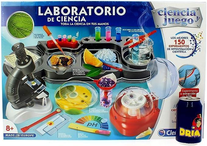 Clementoni Gran Laboratorio de Ciencia, Multicolor (552429 ...