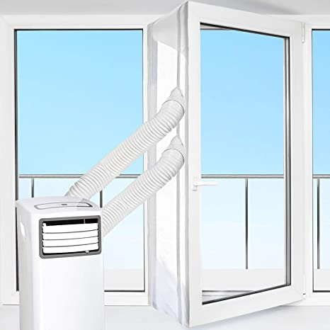 how to seal window ac unit