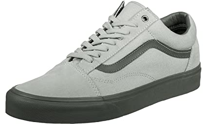 0f27406bc7 Image Unavailable. Image not available for. Colour  Vans Old Skool (C D)  High-Rise  Pewter ...