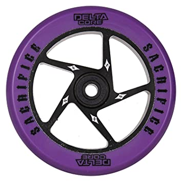 Sacrificio Delta Core - Rueda para patinete, color morado ...