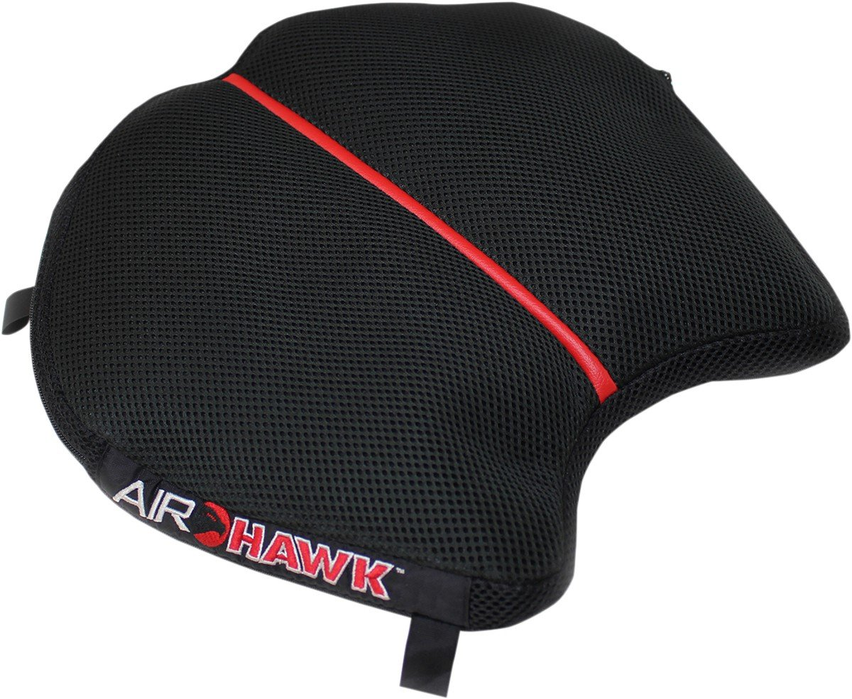 Airhawk Cushion Airhwk R2Poly Cvr - Black / Red