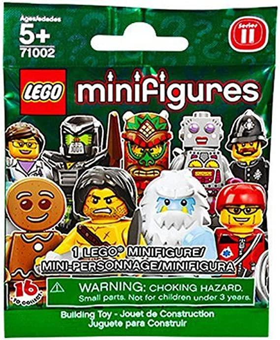 Brand-NEW Storage Case LEGO MiniFigures Series 11 Accessory Clutch