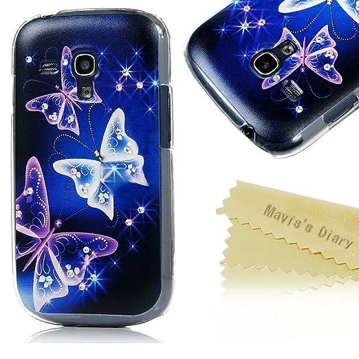 4 opinioni per Per Samsung Galaxy S3 i8190 Mini Cover Originale Custodia Case,Mavis's Diary
