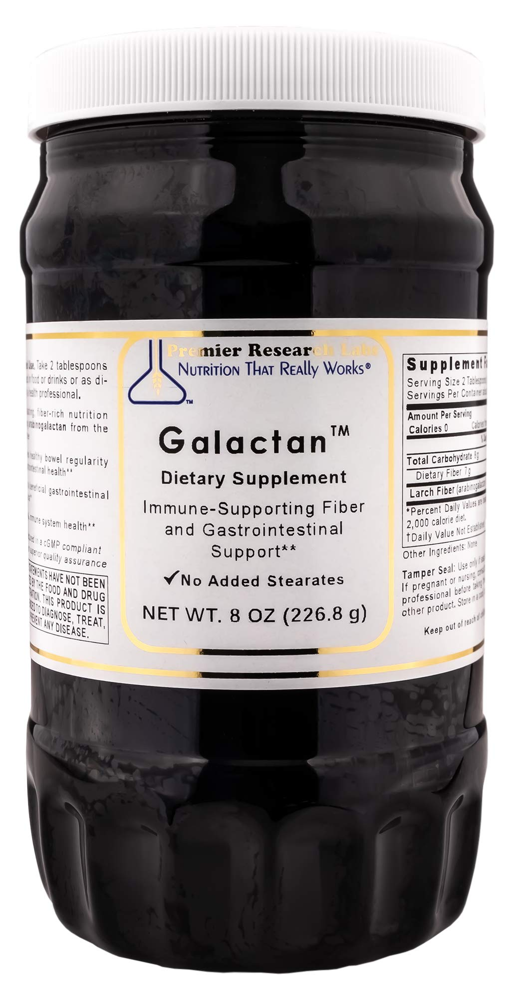 PREMIER RESEARCH LABS Galactan - Supports Immune System and Gastrointestinal Health (8 Ounces, 228 Gram) by Premier Research Labs