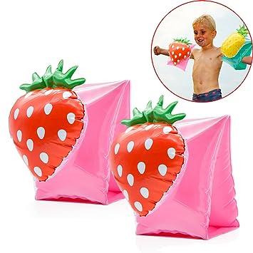 SPECOOL 2 Paquetes de Anillo de Brazo de Natación, Bandas de Brazo inflables para Niños