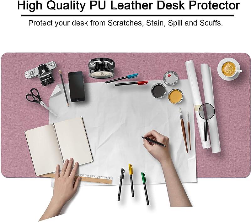 Dual Sided PU Leather Desk Pad
