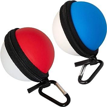 Funda de Transporte roja o Azul para Nintendo Poke Ball Plus ...