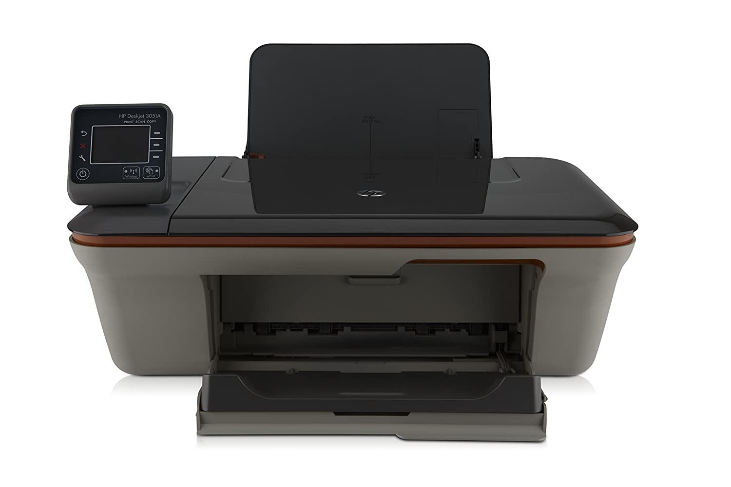 Amazon.com: HP Deskjet 3051 A All-in-One Printer j611h ...