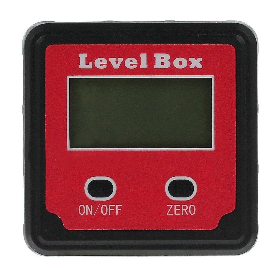 Bevel Box - TOOGOO(R) Digital Gauge Angle Protractor Finder Clinometer Bevel Box Magnetic Waterproof New