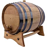 Sofia's Findings 5 Liters-American Oak Aging Barrel | Age Your own Tequila, Whiskey, Rum, Bourbon, Wine - 5 Liter or 1…