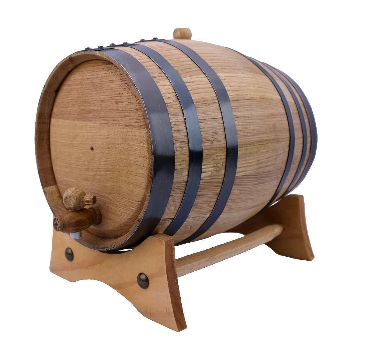 Sofia's Findings 5 Liters-American Oak Aging Barrel | Age Your own Tequila, Whiskey, Rum, Bourbon, Wine - 5 Liter or 1.32 Gallons by Sofia's Findings