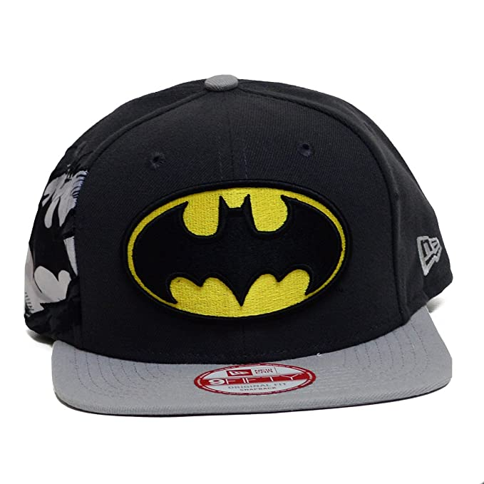 DC Comics Batman 950 Hero Sider Snapback Gorra De Béisbol: Amazon ...