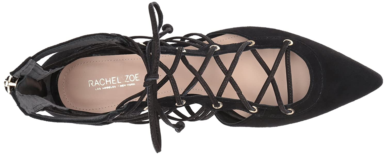 Rachel Zoe Women's Renae M Ballet Flat, Black, 7.5 M Renae US B06XPNYJPF 8 B(M) US|Black e80ecb