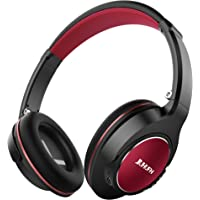 Jiuhufh Over Ear Bluetooth Headphones (Black Red)