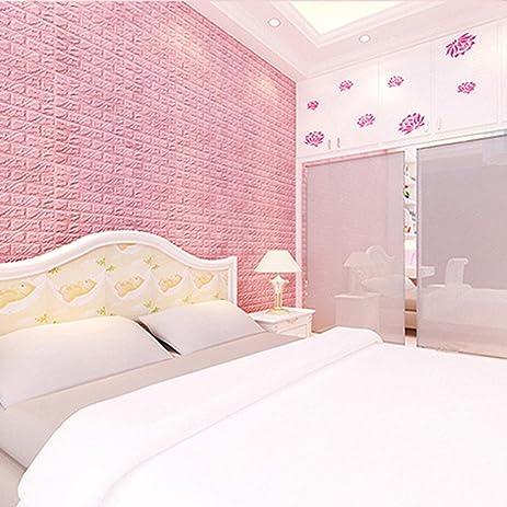 Amazon.com: Wall Stickers, CieKen 3D Wallpaper DIY Wall Panels ...