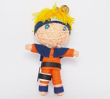 Amazon.com: (vd047) Naruto Voodoo Cadena Llavero con muñeca ...