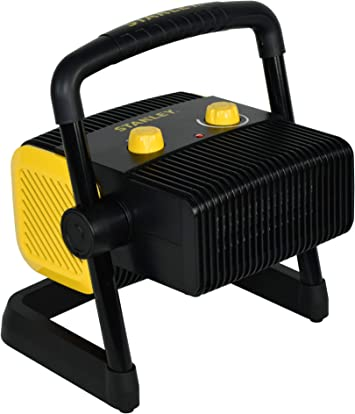 Amazon Com Stanley St 300a 120 Electric Heater Black Yellow Home Improvement