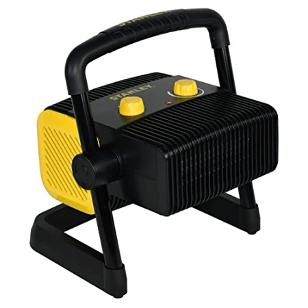 STANLEY ST-300A-120 Heavy-Duty Electric Heater, Black, Yellow