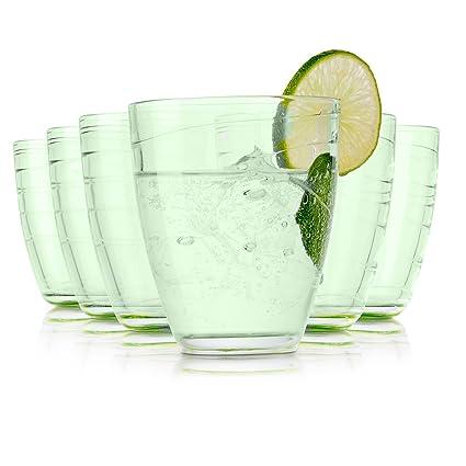Pasabahce Cordoba Vasos de Agua / 360 ML/Conjunto de 6 / Gafas de Alta