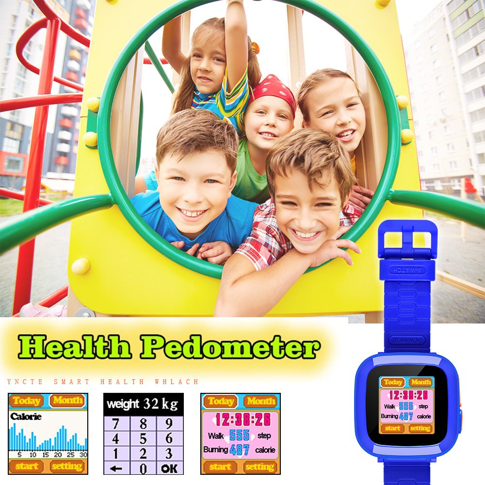 YNCTE Smart Watch for Kids with Digital Camera Games Touch Screen, Cool Toys Watch Gifts for Girls Boys Children by YNCTE (Image #2)