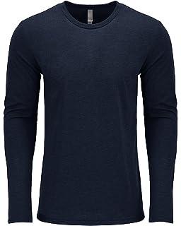 cfb71f798a Next Level Men's Performance Blended Long Sleeve Jersey, Large, Vintage Navy