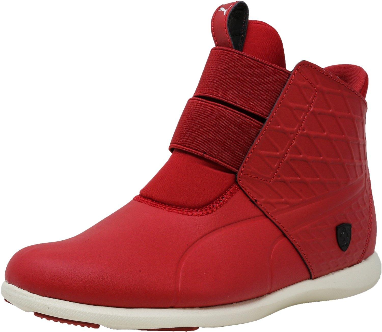 PUMA Women's SF Ankle Boot Sneaker, Chili Pepper-Chili Pepper-Whisper White, 6 M US