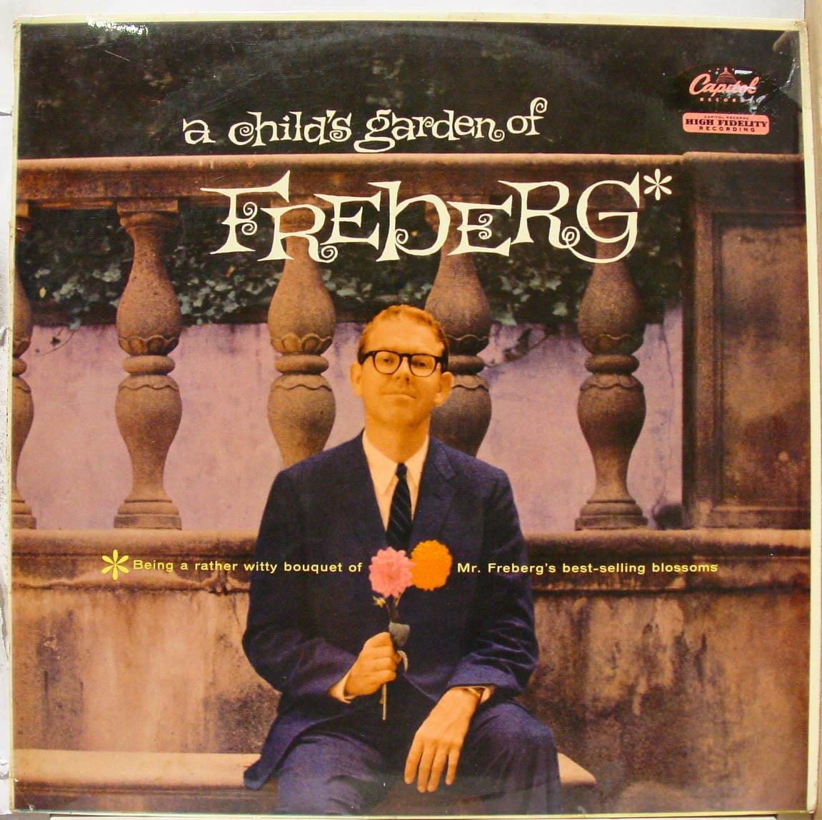 STAN FREBERG A CHILD'S GARDEN vinyl record