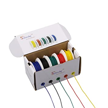 Striveday™ 26 AWG 1007 Coper Wire Electric wire kit 26 gauge Hook ...