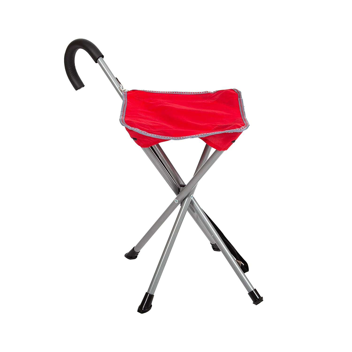Fine Folding Cane Chair Walking Stick With Stool In Black Camellatalisay Diy Chair Ideas Camellatalisaycom