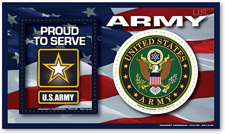 Amazon Com Army Photo Frame Indoor Magnet Automotive