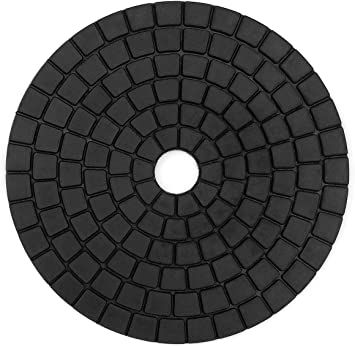 Z-LION 4 Inch Diamond Convex Polishing Pad with 5//8-11 Thread Backer Pad Convex Disc for Marble Granite Xiamen ZL Diamond Technology Co Ltd.