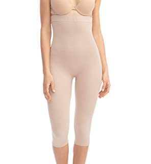 f676f4f5f776f8 FarmaCell 123 Women's high-Waisted Anti-Cellulite micromassage Capri  Leggings