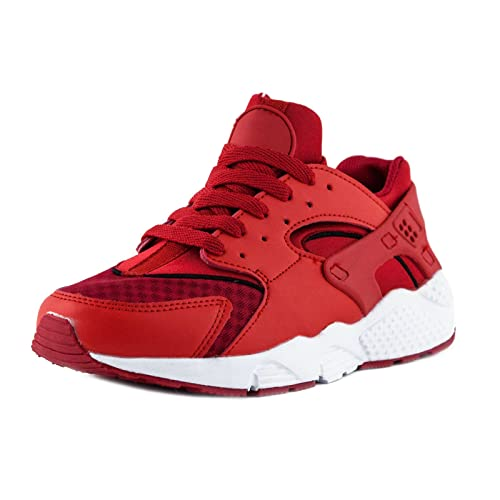 dde5ba43453 Toocool Chaussures Femme Sneakers Gymnastique Fitness Sport Musculation  sportives nouvelles w2602 - Rouge - rouge